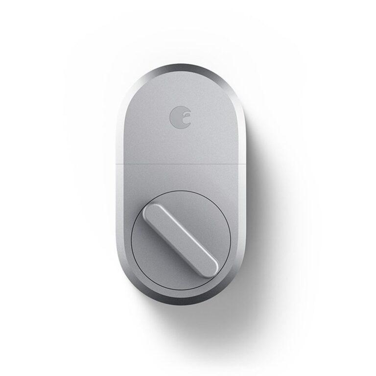 August Smart Door Lock, 3rd Generation Technology, Silver
